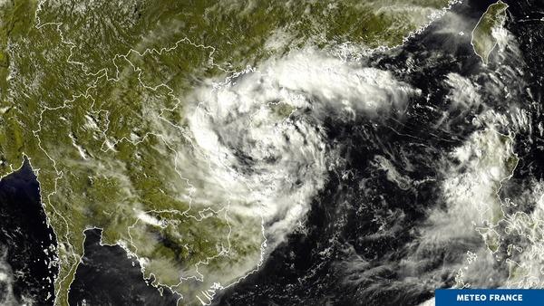 Dépression tropicale en mer de Chine