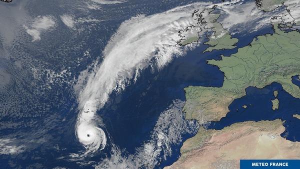 Cyclone Ophélia