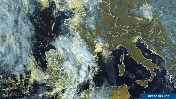 Dégradation du temps sur l'ouest de l'Europe