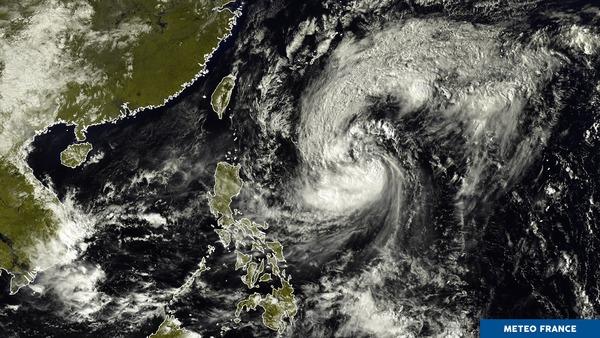 Nouveau phénomène tropical dans le Pacifique