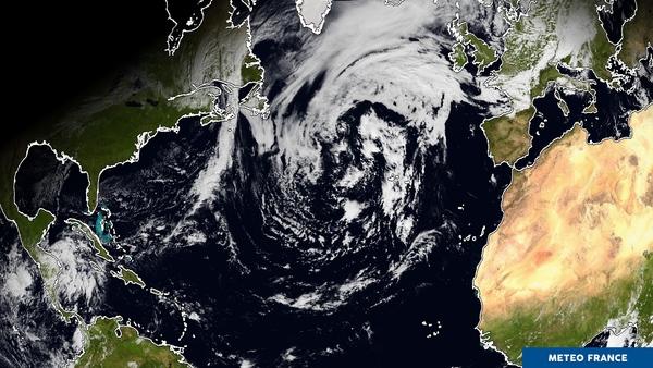 L'océan Atlantique perturbé