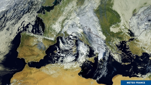 Instabilité sur la Méditerranée