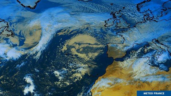 L'Atlantique partagé antre dépression et anticyclone