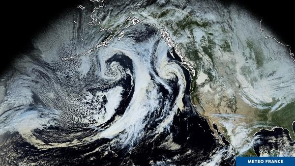 Ballet de perturbations sur le Pacifique
