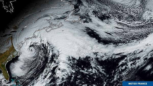 Première tempête de 2018 chez nos voisins d'outre-Atlantique