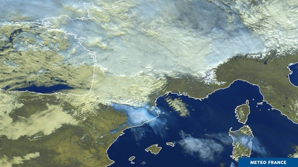 Les nuages d'onde: c'est Foehn!