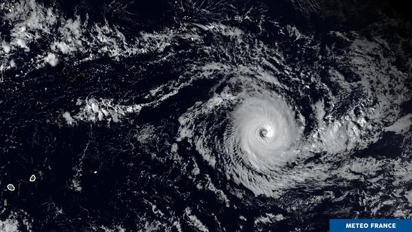 Le cyclone Cébile évolue en plein milieu de l'océan Indien