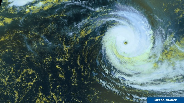 Cébile, un cyclone tropical intense