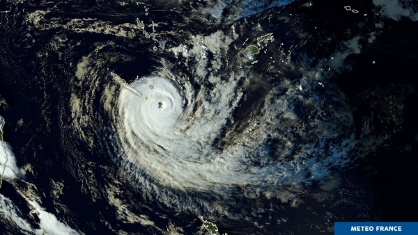 Affaiblissement du cyclone Gita