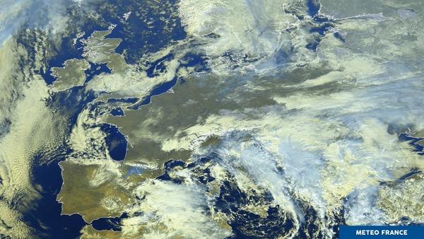 Un ciel européen bien contrasté !