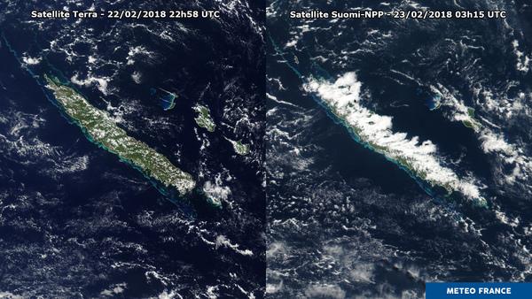 La Nouvelle-Calédonie sous les orages