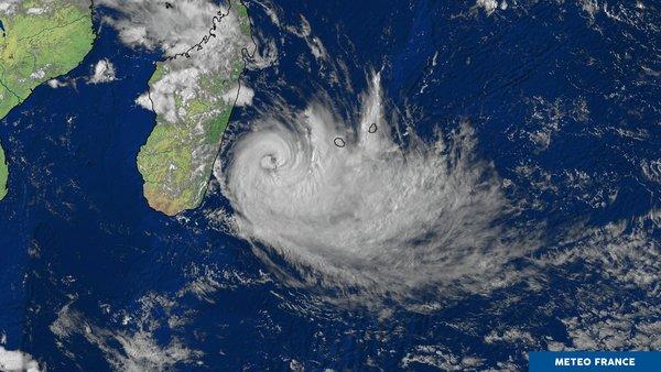 La Réunion sous un déluge