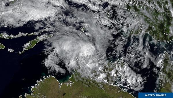 Marcus s'approche des côtes du nord australien