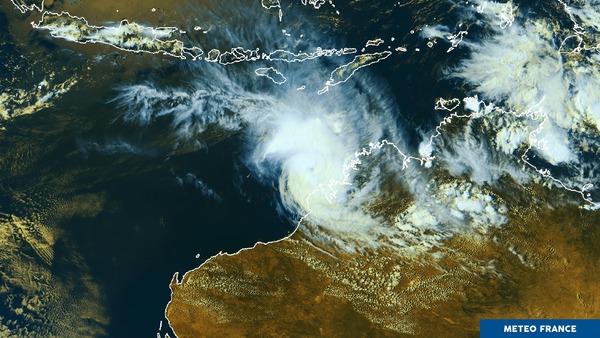 Marcus s'éloigne des côtes australiennes