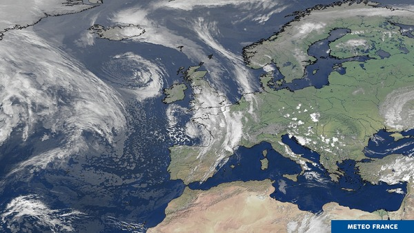 Pluies et orages sur la France
