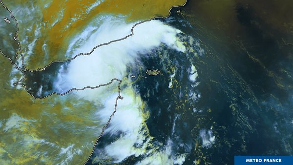 Convection importante en mer d'Arabie