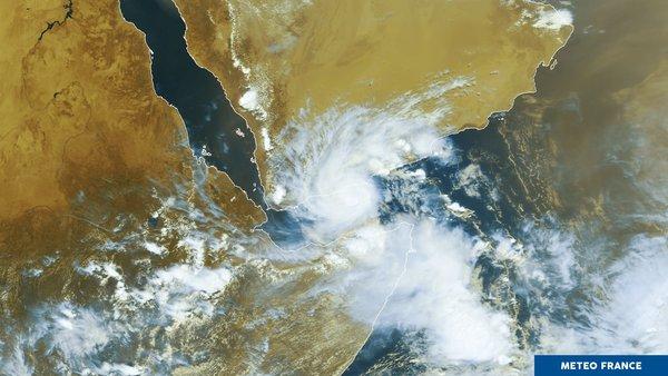 Tempête tropicale Sagar
