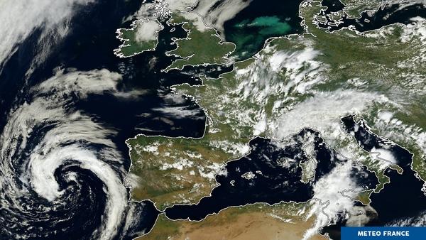 Foisonnement orageux sur l'Europe