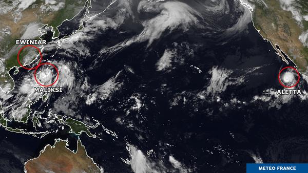 Un Pacifique bien venté !
