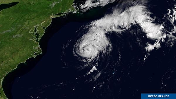 L'ouragan Chris s'est renforcé