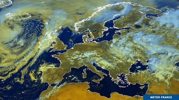 Temps estival en Europe