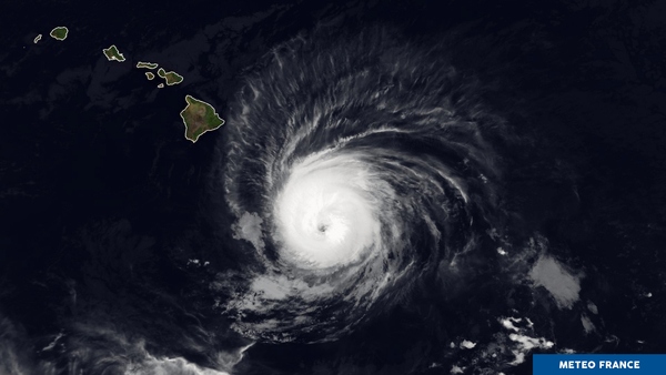 Hawaï en alerte cyclonique