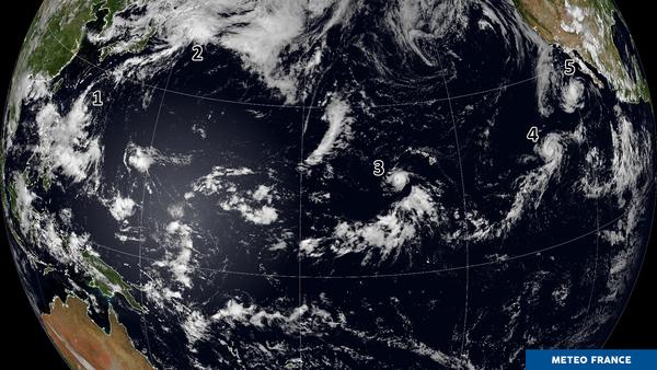 Un Pacifique bien agité !