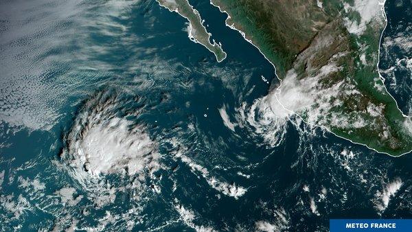 Tempête tropicale Xavier