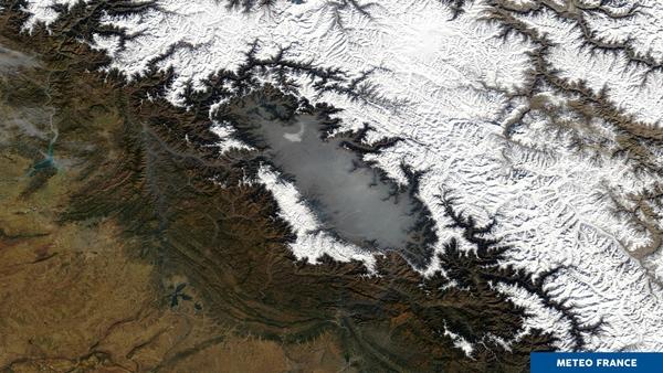 La vallée du Cachemire se transforme en piscine de fumée
