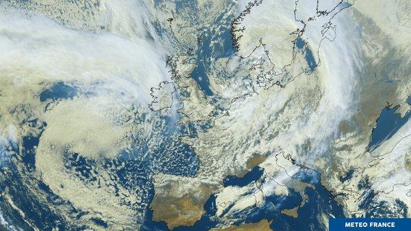 Un ciel européen bien agité !