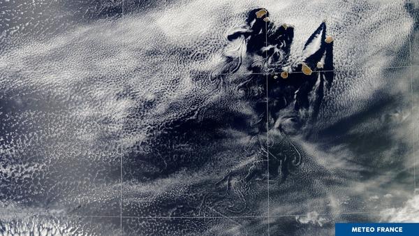 Les îles du Cap-Vert bouleversent les nuages