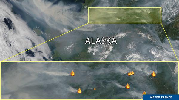 L'Alaska est en feu
