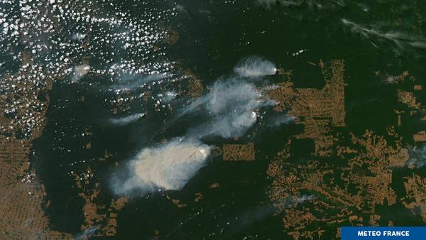 Incendies, pyrocumulus et empreinte humaine en Amazonie