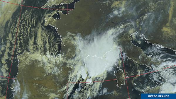 Un temps orageux en Méditerrannée