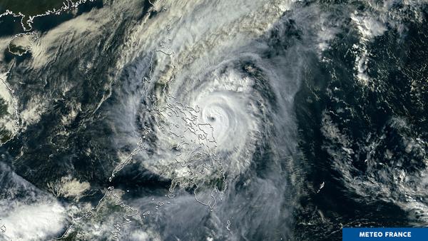 Le typhon Kammuri à l'assaut des Philippines