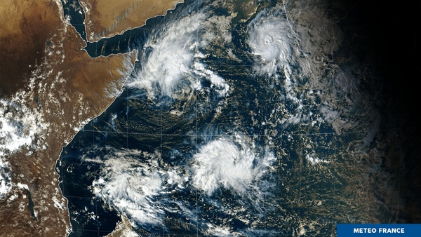 Quatuor au-dessus de l'océan Indien