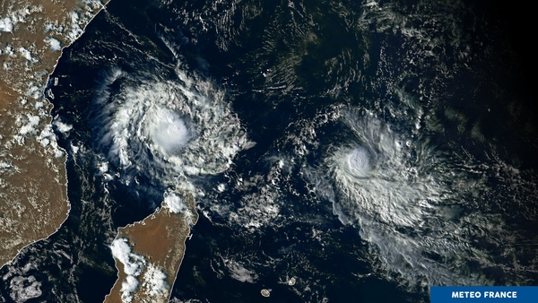 Un duo explosif sur l'océan Indien