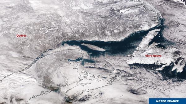 Le froid s'installe au nord de l'Amérique