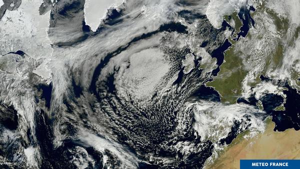 Un anticyclone rayonnant !