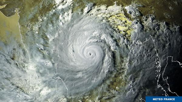 Un puissant cyclone dans le golfe du Bengale
