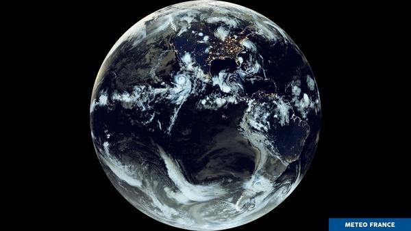 Tempêtes tropicales autour du Mexique et des États-Unis