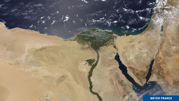 Le delta du Nil