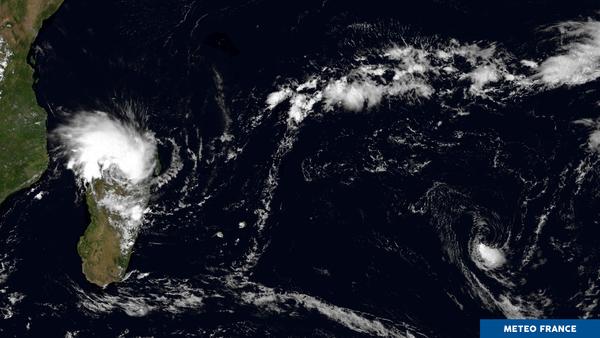 Dépressions tropicales dans l'océan Indien