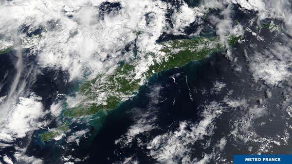 Le Timor et les fortes pluies