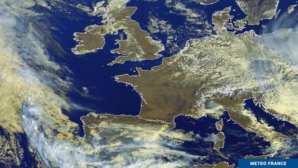 Un anticyclone sur la France