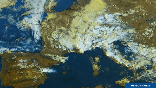 orages orographiques dans les Alpes