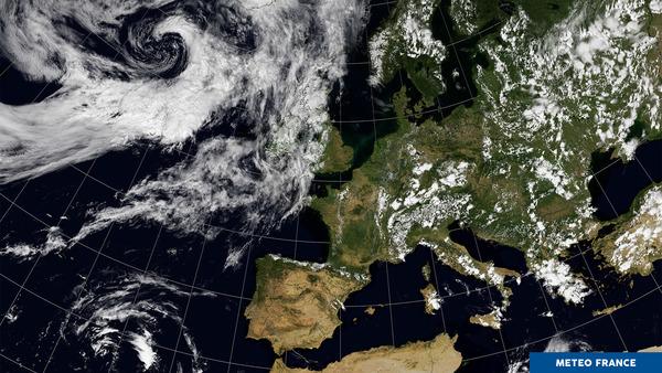 Développements orageux sur l'Europe
