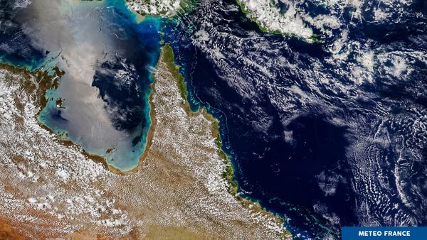 Brise de mer sur la Grande Barrière