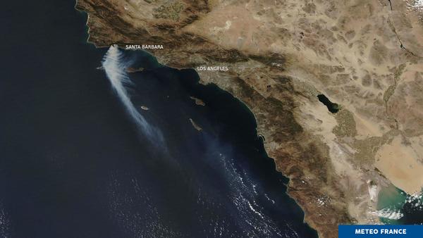 La saison des incendies en Californie s'allonge