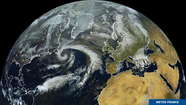 perturbation sur l'Atlantique